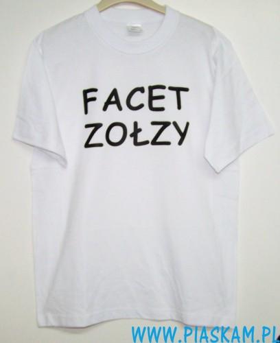 291b8188e koszulka T-shirt bawełna nadruk, dowolny tekst – Piaskam
